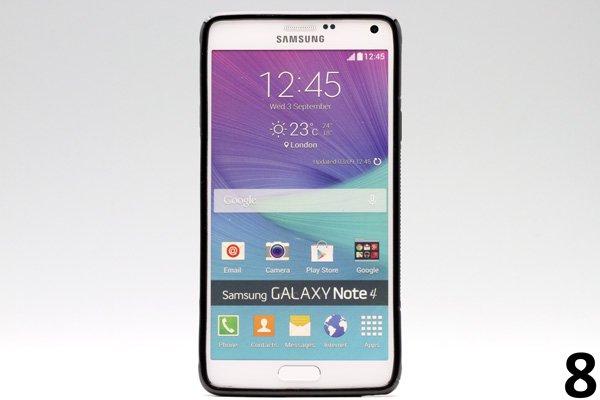 【ネコポス送料無料】Galaxy Note4 (SM-N910)TPUケース 液晶保護フィルム付き 全8色  [16]