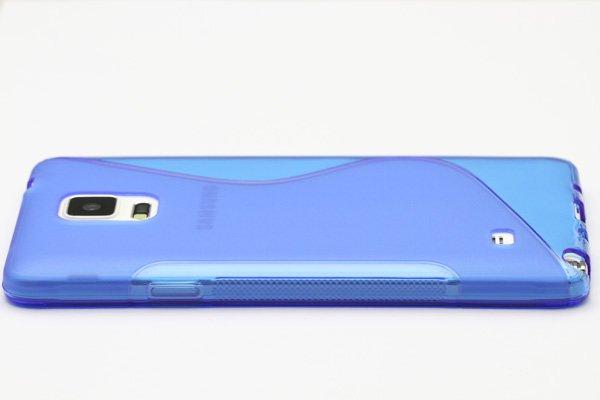 【ネコポス送料無料】Galaxy Note4 (SM-N910)TPUケース 液晶保護フィルム付き 全8色  [17]