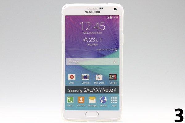 【ネコポス送料無料】Galaxy Note4 (SM-N910)TPUケース 液晶保護フィルム付き 全8色  [6]