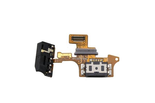 isai LGL22 イヤホンジャック & USBコネクターケーブルASSY 交換修理  [1]