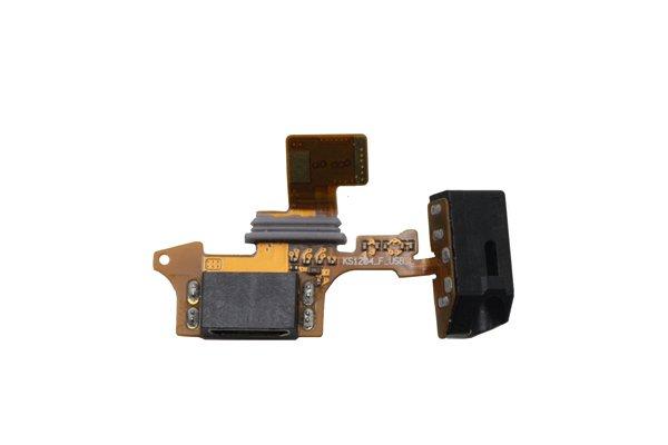 isai LGL22 イヤホンジャック & USBコネクターケーブルASSY 交換修理  [2]