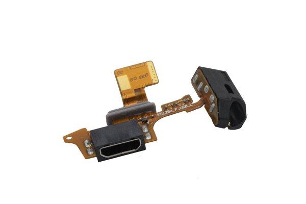 isai LGL22 イヤホンジャック & USBコネクターケーブルASSY 交換修理  [3]