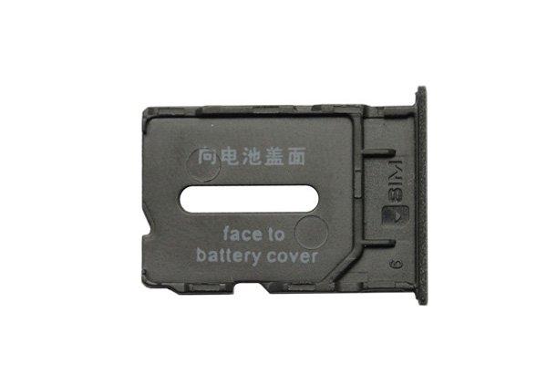 【ネコポス送料無料】OnePlus One (A0001) SIMカードトレイ ブラック  [1]