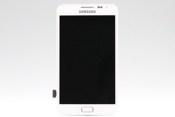 SAMSUNG Galaxy Note (GT-N7000) フロントパネルASSY ホワイト  [1]