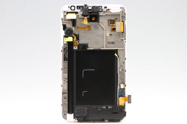 SAMSUNG Galaxy Note (GT-N7000) フロントパネルASSY ホワイト  [2]