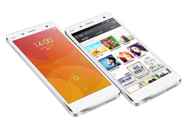 2.5GHz クアッドコアCPU(Snapdragon 801)搭載 Xiaomi (小米) Mi4 16GB ホワイト SIMフリー [1]