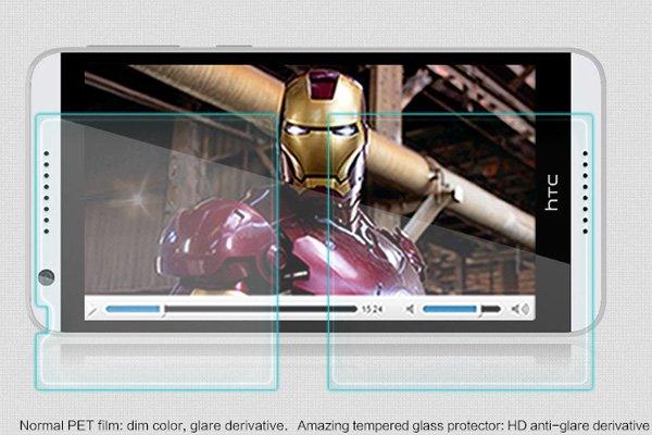 【ネコポス送料無料】HTC Desire820 強化ガラスフィルム ナノコーティング 硬度9H  [3]