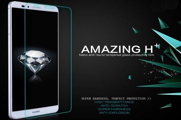【ネコポス送料無料】Huawei Ascend Mate7 強化ガラスフィルム ナノコーティング 硬度9H  [2]