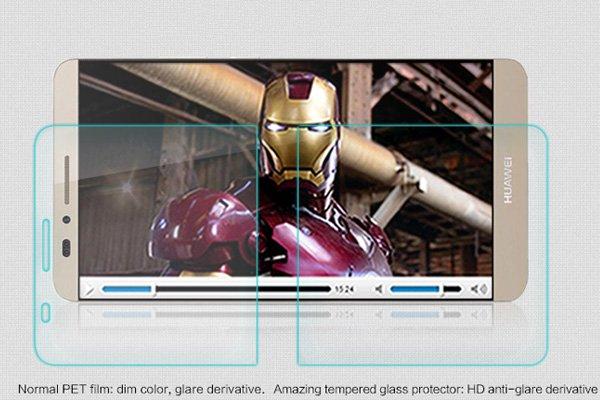 【ネコポス送料無料】Huawei Ascend Mate7 強化ガラスフィルム ナノコーティング 硬度9H  [3]