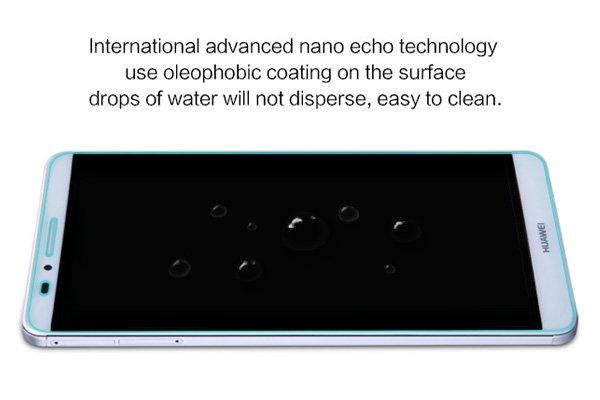 【ネコポス送料無料】Huawei Ascend Mate7 強化ガラスフィルム ナノコーティング 硬度9H  [5]