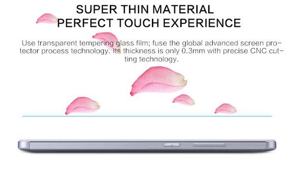 【ネコポス送料無料】Huawei Ascend Mate7 強化ガラスフィルム ナノコーティング 硬度9H  [6]
