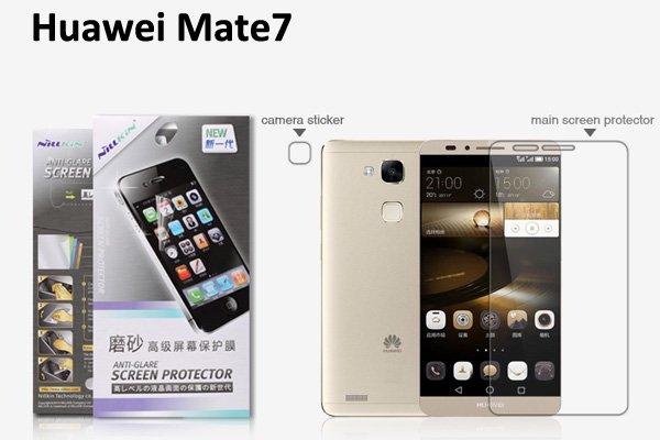 【ネコポス送料無料】Huawei Ascend Mate7 液晶保護フィルムセット アンチグレアタイプ  [1]