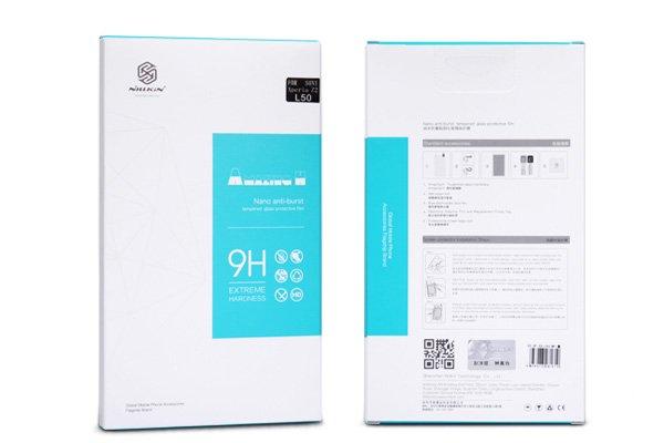 【ネコポス送料無料】LG G2 mini 強化ガラスフィルム ナノコーティング 硬度9H  [5]