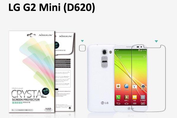 【ネコポス送料無料】LG G2mini (D620) 液晶保護フィルムセット クリスタルクリアタイプ  [1]