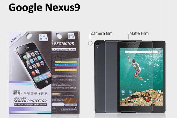 【ネコポス送料無料】Google Nexus9 液晶保護フィルムセット アンチグレアタイプ  [1]