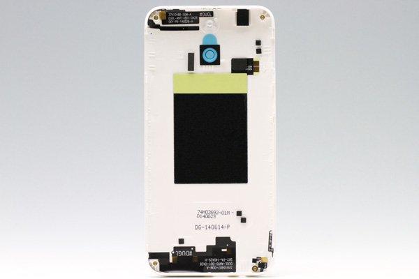 【ネコポス送料無料】HTC One (E8) バックカバー ホワイト  [2]