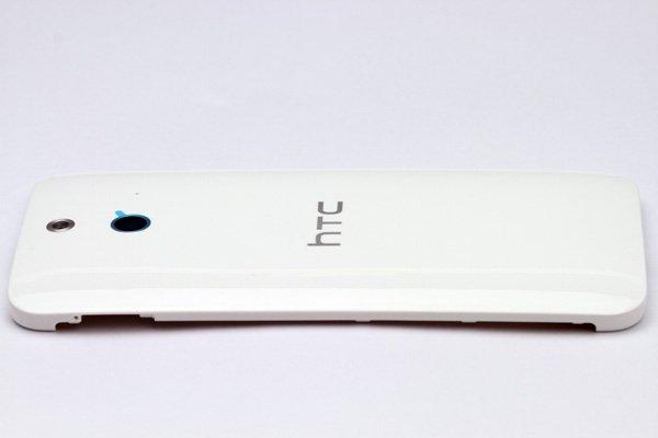 【ネコポス送料無料】HTC One (E8) バックカバー ホワイト  [6]