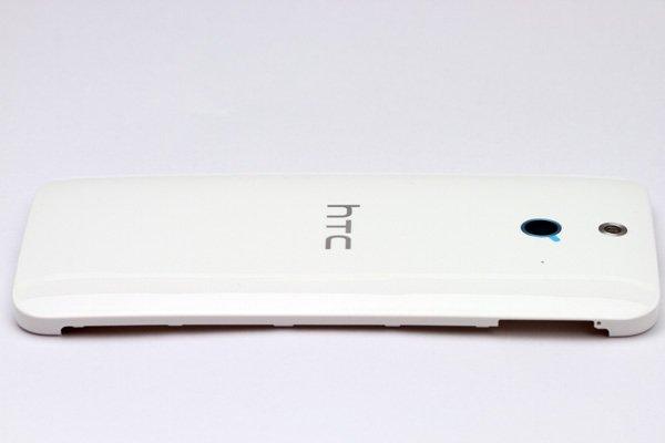 【ネコポス送料無料】HTC One (E8) バックカバー ホワイト  [7]