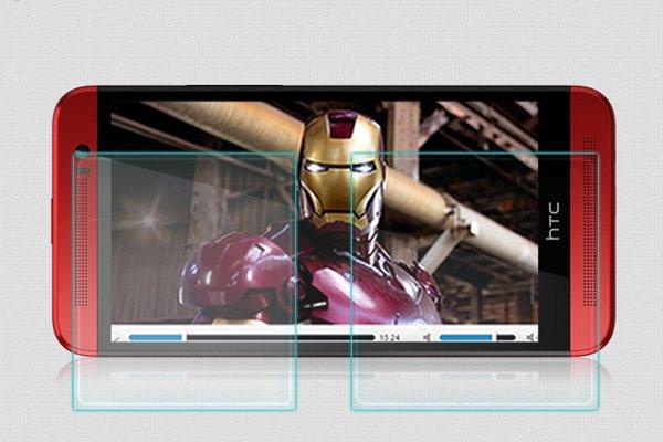 【ネコポス送料無料】HTC One (E8) 強化ガラスフィルム ナノコーティング 硬度9H  [4]