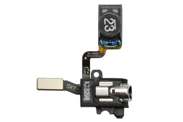 【ネコポス送料無料】Galaxy Note3 (SM-N900S SC-01F SCL22) イヤホンジャック & イヤースピーカーケーブル  [1]