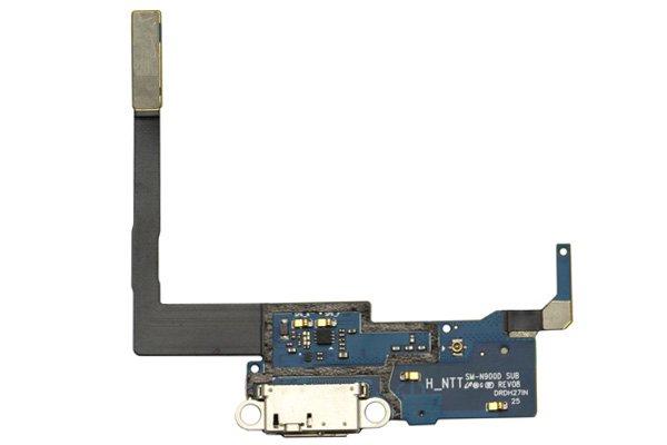 【ネコポス送料無料】Galaxy Note3 (SC-01F) マイクロUSBコネクターケーブルASSY  [1]