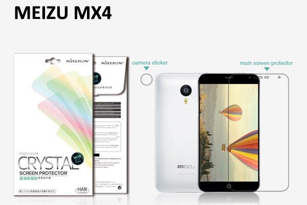 【ネコポス送料無料】MEIZU (魅族) MX4用 液晶保護フィルムセット クリスタルクリアタイプ  [1]