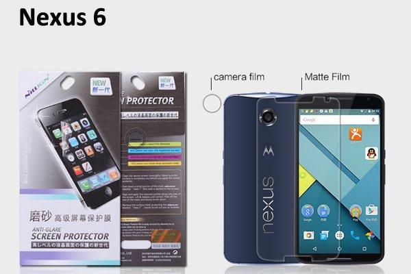 【ネコポス送料無料】Nexus6 液晶保護フィルムセット アンチグレアタイプ  [1]