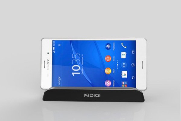 KIDIGI Xperia Z3 (SO-01G SOL26 D6653)専用クレードル with cover-mate AC付 [6]
