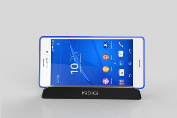 KIDIGI Xperia Z3 (SO-01G SOL26 D6653)専用クレードル with cover-mate AC付 [7]