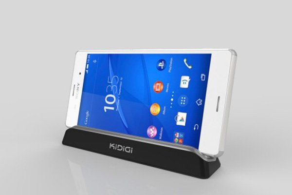 KIDIGI Xperia Z3 (SO-01G SOL26 D6653)専用クレードル with cover-mate AC付 [8]