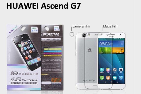 【ネコポス送料無料】Huawei Ascend G7 液晶保護フィルムセット アンチグレアタイプ  [1]