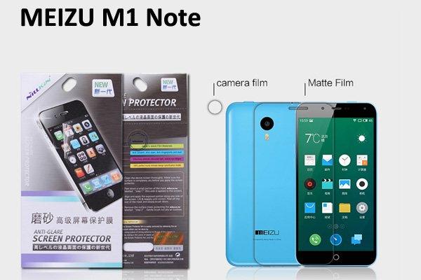 【ネコポス送料無料】MEIZU (魅族) M1 Note用 液晶保護フィルムセット アンチグレアタイプ  [1]