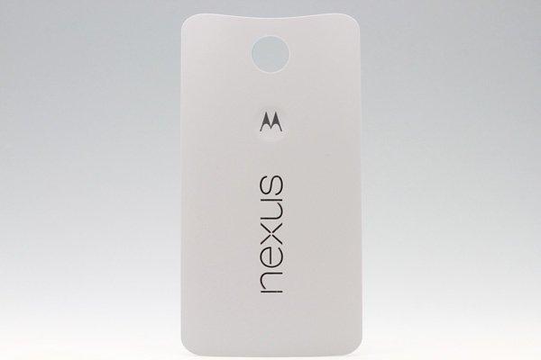 【ネコポス送料無料】Nexus6 バックカバー 全2色  [2]