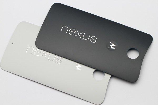 【ネコポス送料無料】Nexus6 バックカバー 全2色  [5]