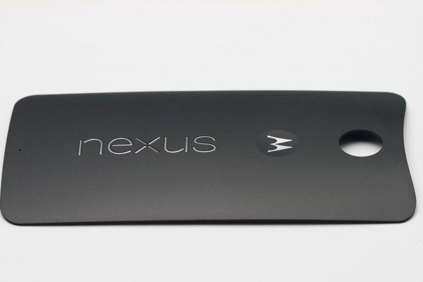 【ネコポス送料無料】Nexus6 バックカバー 全2色  [6]