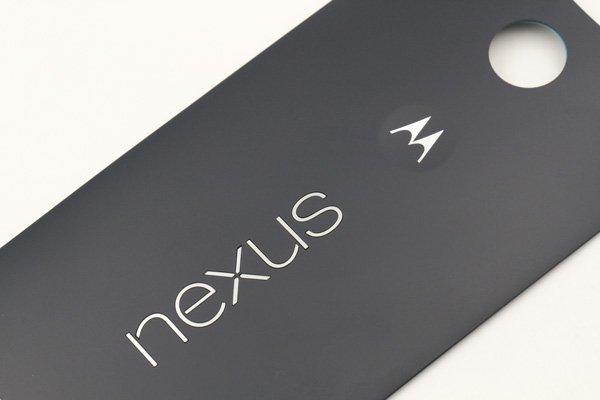 【ネコポス送料無料】Nexus6 バックカバー 全2色  [10]