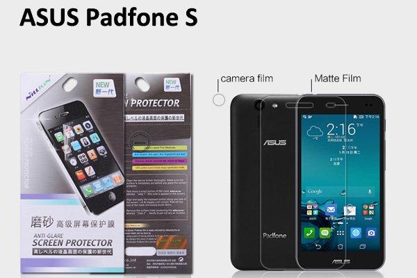 【ネコポス送料無料】ASUS Padfone S (PF500KL) 液晶保護フィルムセット アンチグレアタイプ  [1]