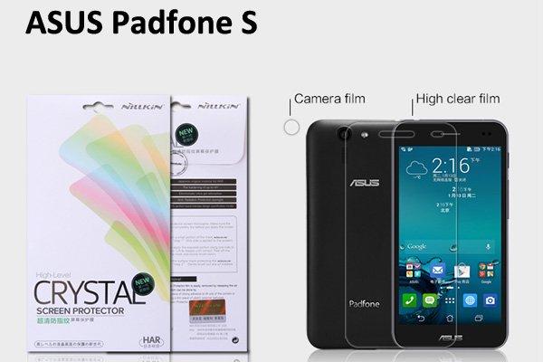 【ネコポス送料無料】ASUS Padfone S (PF500KL) 液晶保護フィルムセット クリスタルクリアタイプ  [1]