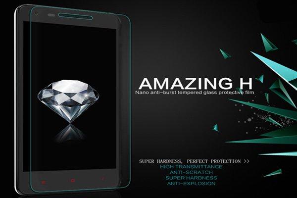 【ネコポス送料無料】Xiaomi (小米) 紅米2 Redmi2 強化ガラスフィルム ナノコーティング 硬度9H  [2]