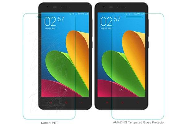 【ネコポス送料無料】Xiaomi (小米) 紅米2 Redmi2 強化ガラスフィルム ナノコーティング 硬度9H  [4]