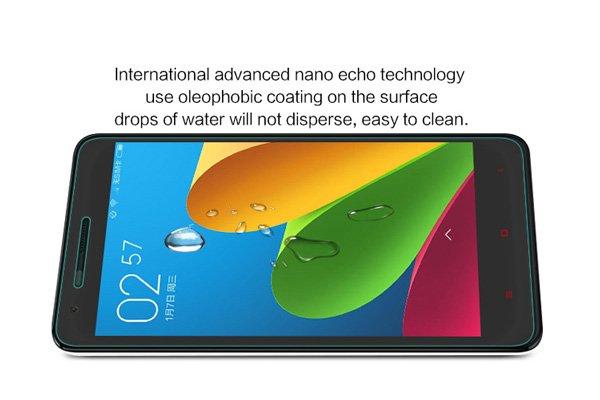 【ネコポス送料無料】Xiaomi (小米) 紅米2 Redmi2 強化ガラスフィルム ナノコーティング 硬度9H  [5]