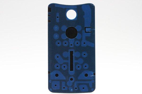 【ネコポス送料無料】Nexus6 バックカバー ロゴなし ブラック  [2]