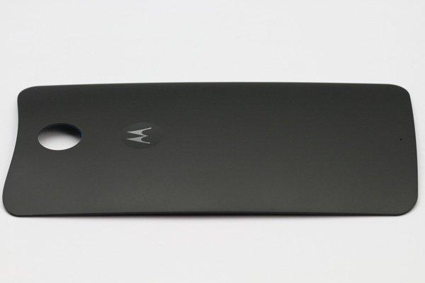 【ネコポス送料無料】Nexus6 バックカバー ロゴなし ブラック  [3]