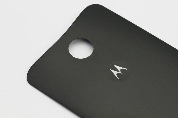 【ネコポス送料無料】Nexus6 バックカバー ロゴなし ブラック  [4]