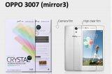 【ネコポス送料無料】OPPO Mirror3 (3007)液晶保護フィルムセット クリスタルクリアタイプ