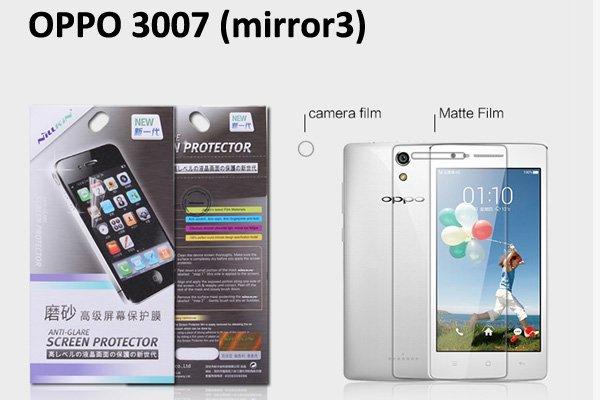 【ネコポス送料無料】OPPO Mirror3 (3007) 液晶保護フィルムセット クリスタルクリアタイプ  [1]
