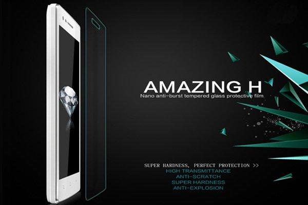 【ネコポス送料無料】OPPO Mirror3 (3007) 強化ガラスフィルム ナノコーティング 硬度9H  [2]