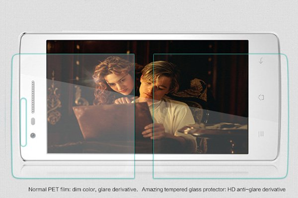 【ネコポス送料無料】OPPO Mirror3 (3007) 強化ガラスフィルム ナノコーティング 硬度9H  [3]
