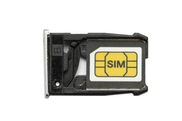 【ネコポス送料無料】Nexus6 SIMカードトレイ 全2色  [4]