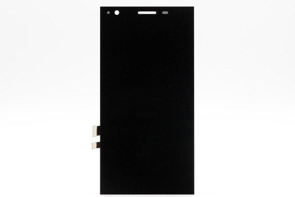 freetel XM / ZTE Blade VEC 4G フロントパネル ブラック [1]